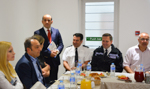 Iftar Dinner with Local Councillars, Police Commanders and Council Officers in Brighton