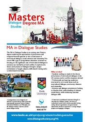 Dialogue Studies Masters Degree Poster