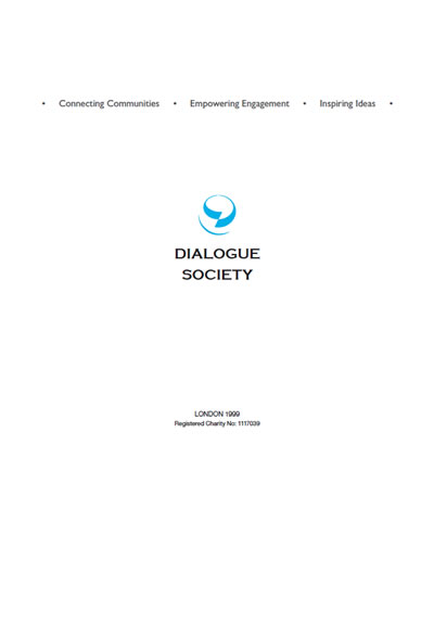 Dialogue Society 2013 Overview