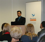 Successful book launch at Dialogue: Muslims of Europe: The 'Other' Europeans by Dr H.A. Hellyer, 13/10/09