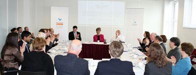 Roundtables with Professor Helen Rose Ebaugh, University of Houston, 30.03.2011, 31.03.2011
