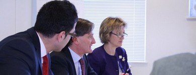 Roundtable with Dominic Grieve on Faith and Integration, 23.02.2012