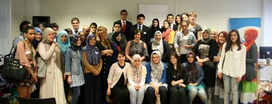 Final Success School Session with Cherie Blair, 29.05.2012