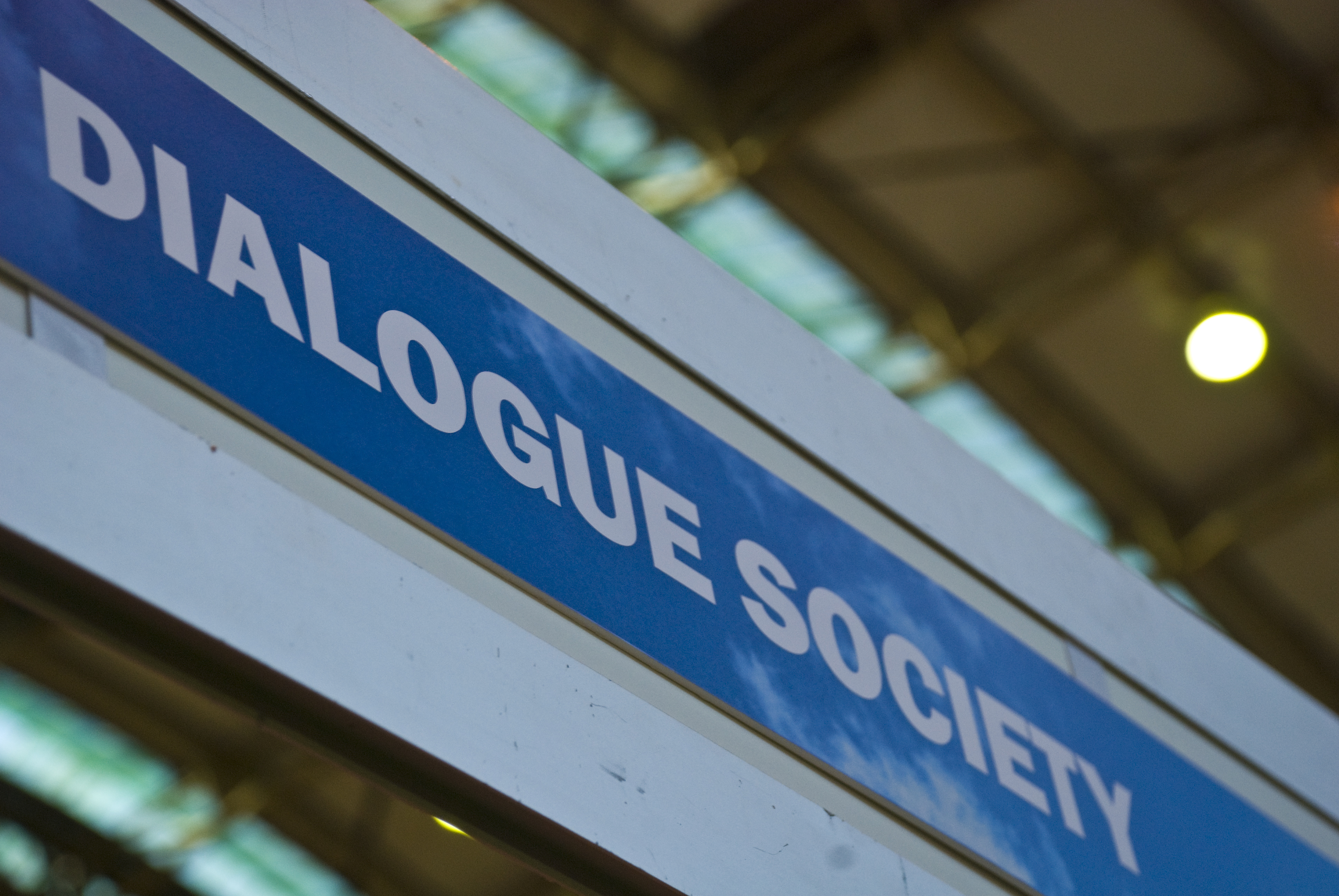 Dialogue Society Represented at the Political Party Conferences