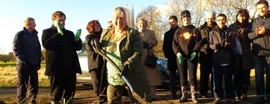 Interfaith Tree Planting in Wakefield