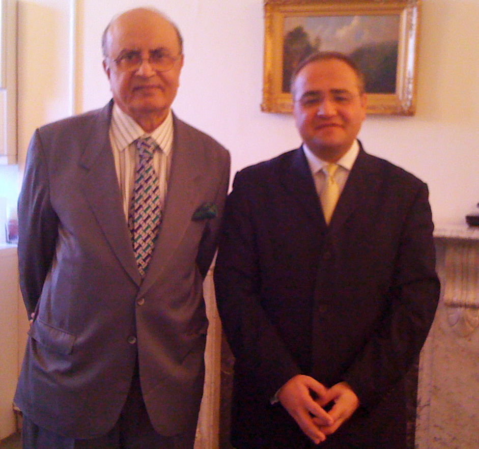 Meeting with Lord Hameed