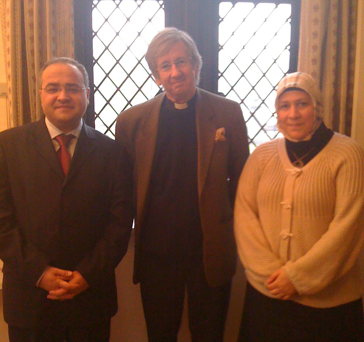 Meeting with Revd Canon Guy Wilkinson, Adviser to Archbishop of Canterbury