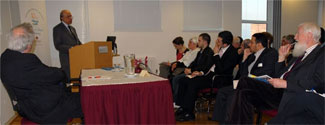 Seminar with Lord Dr Khalid Hameed on 'Making Dialogue Work in Interfaith', 14/04/10