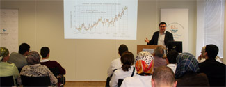 'The Challenges of Climate Change': seminar with Dr Simon Buckle, 08/06/2010