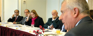 Roundtable with Prof Malcolm Gillies, VC of London Metropolitan University: