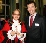 Islington Interfaith Week Reception, with Dialogue Society Noah's Puddings, 22/11/10