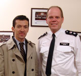 Visit from Islington Borough Commander Mike Wise, 05/01/2011